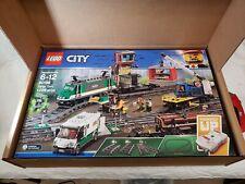 Lego City Cargo Train New in Shipping Box (60198)
