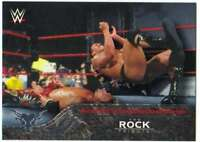 2016 Topps WWE The Rock Tribute #16 Wins World Tag Team Championship Undertaker