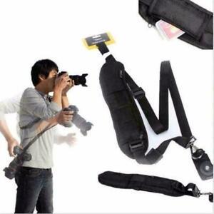 Strap Camera Single Shoulder Belt Sling Slr Dslr Cam M4H9 For Canon Nikon U7F9