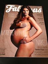 Fabulous Magazine August 2013 Danielle Lloyd O'Hara Pregnancy Pregnant DJ Fresh