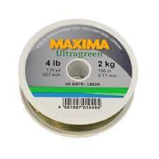 Maxima Fishing Line 100m Ultra Green Line