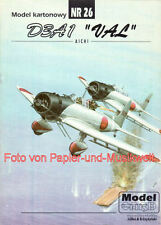 "Model Card - 26 - Aichi D3A1 ""Val"" - 1:33"