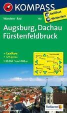 KOMPASS 190 Wandern * Rad Augsburg - Dachau - Fürstenfeldbruck 1 : 50 000