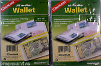 2PK ALL WEATHER WALLET=WATER PROOF PROTEC!TION FOR YOUR LICENSES, PERMITS MONEY