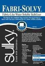 "SULKY Fabri-Solvy EMBROIDERY STABILIZER! 20""x25yd!NEW"