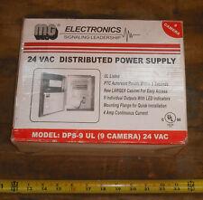 MG ELECTRONICS DPS-9UL DIST 9 CAM 24 VAC PWR SUPPLY