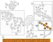 KIA OEM 2016 Sorento Brake-Rear Pads 58302C6A00