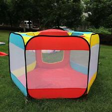 Indoor/Outdoor Play House Easy Folding Ball Pit Hideaway Tent Play Hut for Kids