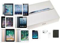 Apple iPad Bundle | 2/3/4 & Mini1/2/3/4 | 16/32/64/128GB | Wi-Fi Only | Open Box