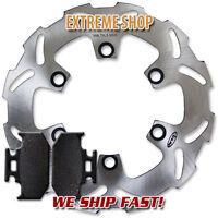 Kawasaki Rear Brake Disc Rotor + Pads KDX 200 (95-06) 220 (97-05) 250 (91-94)