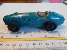 GREEN RACER w/ FIN's TOOTSIE TOY Made In CHICAGO U.S.A.  4  Wheels  RARE
