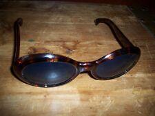 Vintage Tortoise Shell Sunglasses Classic Jackie Style nice 1970's Original