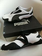 Puma Mostro men's trainers  Size 12 stunning white leather