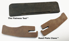 Andrew Zajac Flatness Tool and Reed Plate Claws for Diatonic Harmonica