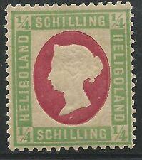 German States Heligoland Scott #8 Mint Hinged Sound Stamp