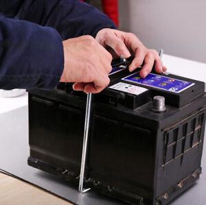 Car Storage Battery Holder Metal Rack Adjustable Stabilizer Mount Bracket Set