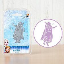 Disney Frozen Craft Die-Anna + Face Stamp - 006-New Out