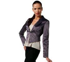 CE by Cristina Ehrlich Satin Weave Cropped Blazer NWT SIZE 10 QVC $111.00!!!!!!!