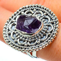 Large Amethyst 925 Sterling Silver Ring Size 8.5 Ana Co Jewelry R33414F