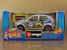 [PI3-44] BBURAGO BURAGO 1/43 STREET FIRE VOLKSWAGEN GOLF RALLY N.2 NIB