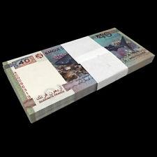 Lot 100 PCS, Djibouti 40 Francs, 2017, P-46, Independent 40th COMM Banknote, UNC