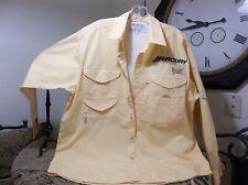 Columbia Sportswear Men's Long Sleeve Mercury Motors Fishing Shirt Multi Front P