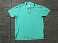 Brooks Brothers Adult Mens Medium Vintage Polo Shirt Slim Fit Green