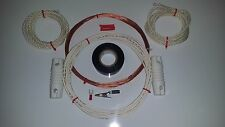 Shortwave Receiver  Antenna - Small Space-Attic- 25'- Easy Up with Instructions