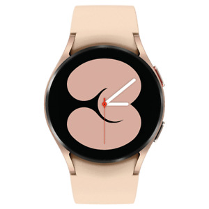 Samsung Galaxy Watch 4 40mm Smartwatch SM-R860NZDCXAA w/ Black & Pink Bands