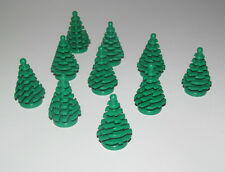 Lego ® Ville City Lot x10 Petit Sapin Arbre Plant Tree Little Pine ref 2435 NEW