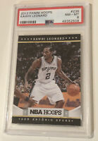 🔥 Kawhi Leonard Spurs 2012 Panini Hoops Basketball Rookie Card RC #236 PSA 8 📈