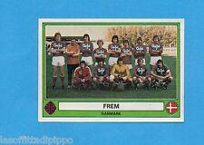 EUROFOOTBALL 78-PANINI-Figurina n.51- FREM -DANIMARCA-SQUADRA/TEAM-Rec