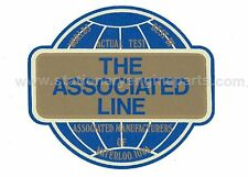 "Amanco Stationary Engine ""The Associated Line"" Decal Water Slide Transfer"