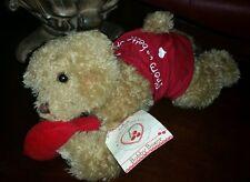 "Bobby Boxer Hallmark Bunnie By Bay Bear w/ tags 12"" Plush Love Valentine. #Q7"