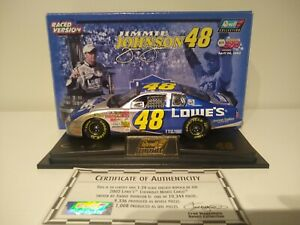 JIMMIE JOHNSON 2002 REVELL #48 LOWE'S 1ST CUP RACED WIN NAPA 500 CHEVY XRARE!!!