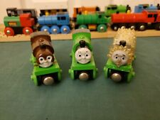 Thomas Wooden Railway Learning Curve Adventures of Percy Chocolate Coal Jack GUC