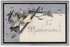 WILLIAM DRYSDALE, UDDINGSTON: Lanarkshire 1900 Mourning Card (C11521)