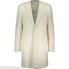 JOHN RICHMOND Embellished Virgin Wool Overcoat Coat BNWTs RRP £2100