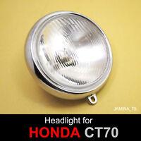 HONDA ATC atc90 atc110 lumineuse Chrome Cap Visor Wing Logo Emblème Badge New