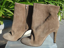 FREE PEOPLE Fairfax Suede Ankle Boot Slouchy Silhouette Heel Size US8 EUR38 $178