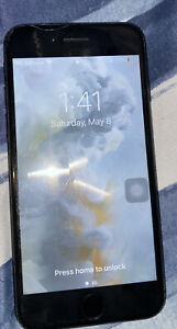 Apple iPhone 7 - 32GB - Jet Black (Cricket) A1778 (GSM)