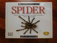 "NEW Eyewitness Kits ""Spider"" Craft Kit.- Create a Life Size Tarantula!"