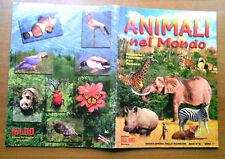 Album Animali nel mondo completo -- Fol Bo