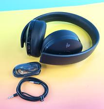 Sony PS Gold Wireless Stereo Headphones - CUHYA-0080, Black #PA3827