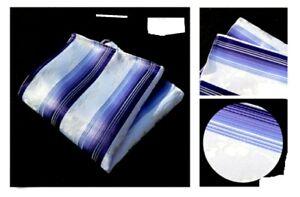 Buy3) Men's Mix/Stripe Pocket Sq Handkerchief Assorted Patterns Gifts Weddings
