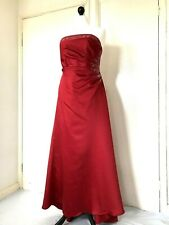 4eeff112029cc Alfred Angelo Special Occasion Red Ballgown/Prom Dress Size 16 Good  Condition
