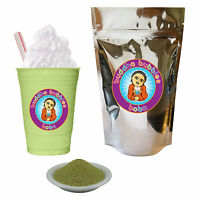 Matcha Green Tea Latte Boba / Bubble Tea Powder Buddha Bubbles Boba (10 Ounces)