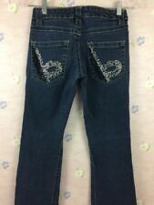 BeBe Jeans Woman's size 26 Denim Bling pockets Super Cute** USA