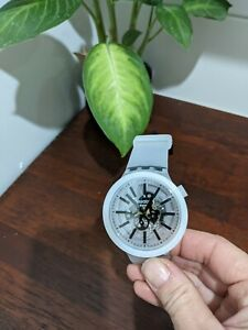 Swatch Big Bold Jelly Black great used condition