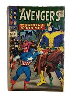 🔥 AVENGERS #33 1966 SCARLET WITCH CAPTAIN AMERICA APP SILVER AGE 1966 STAN LEE